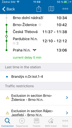 IDOS Timetables for iOs - connection route